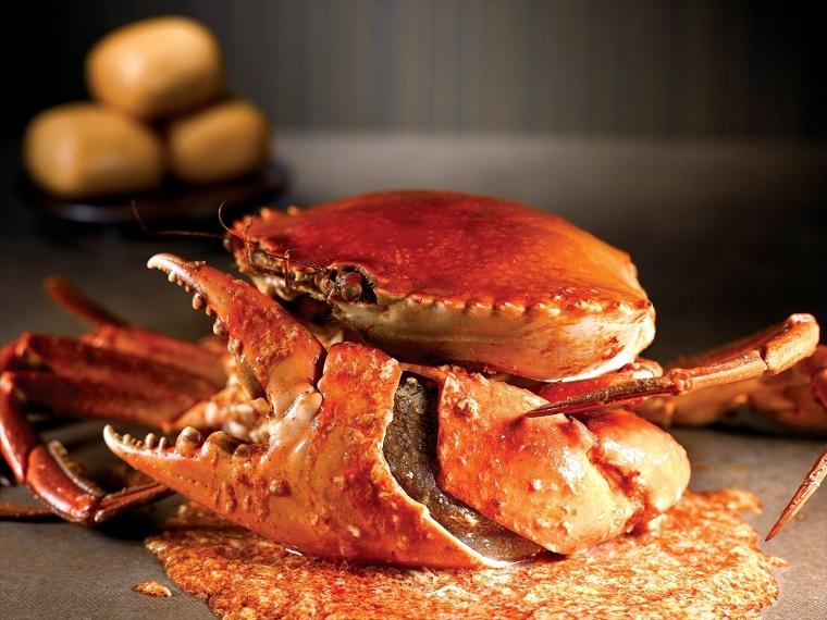 NO SIGNBOARD SEAFOOD's Crab Dish