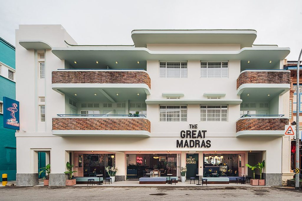 THE GREAT MADRAS' LOCATION