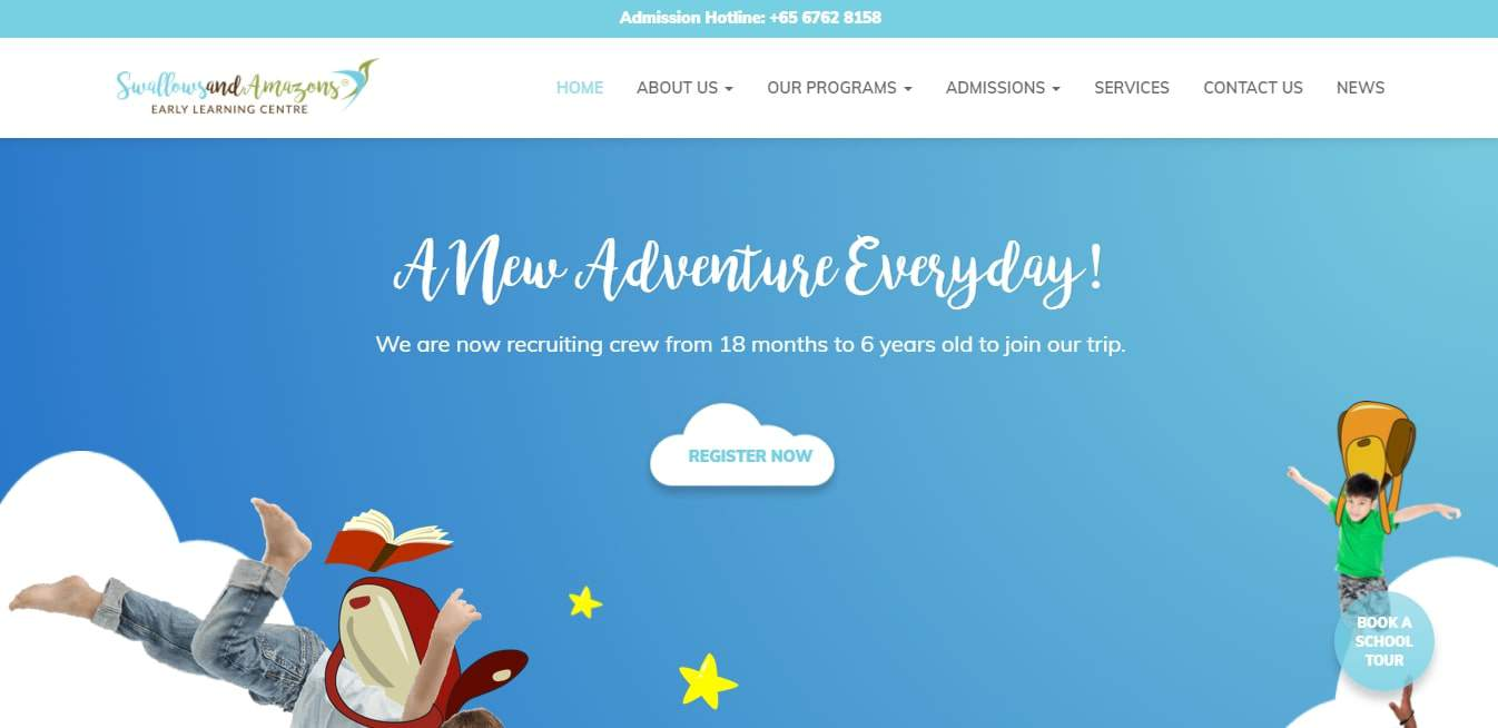 Swallows & Amazons' Homepage