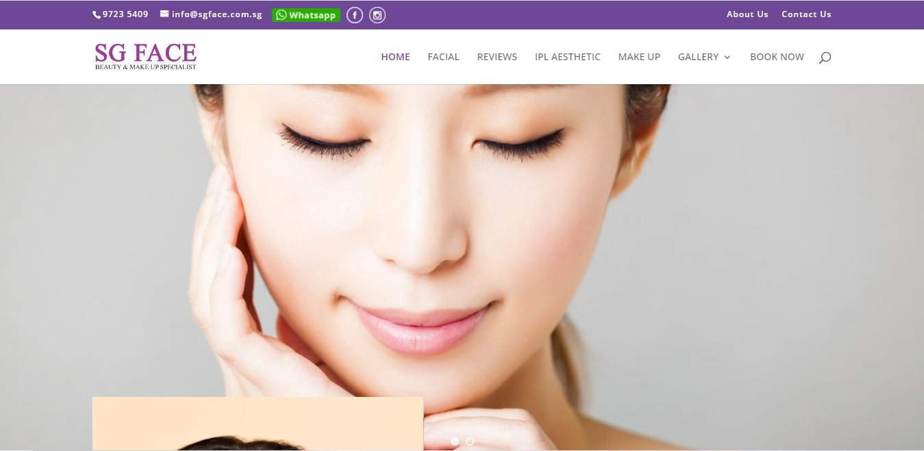 SG Face's Homepage