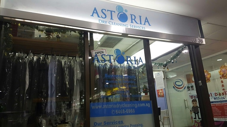 Astoria Dry Cleaning's Storefront
