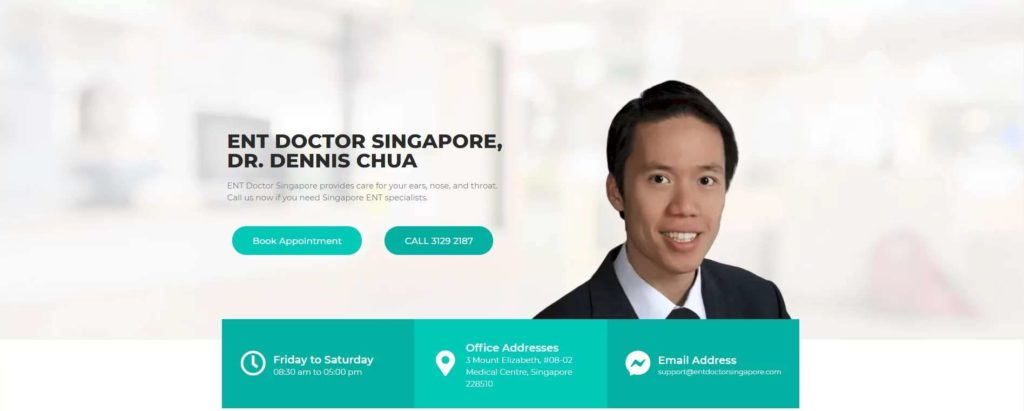 ENT Doctor Singapore – Dr. Dennis Chua's Homepage