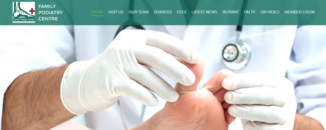 Family Podiatry Centre's Homepage
