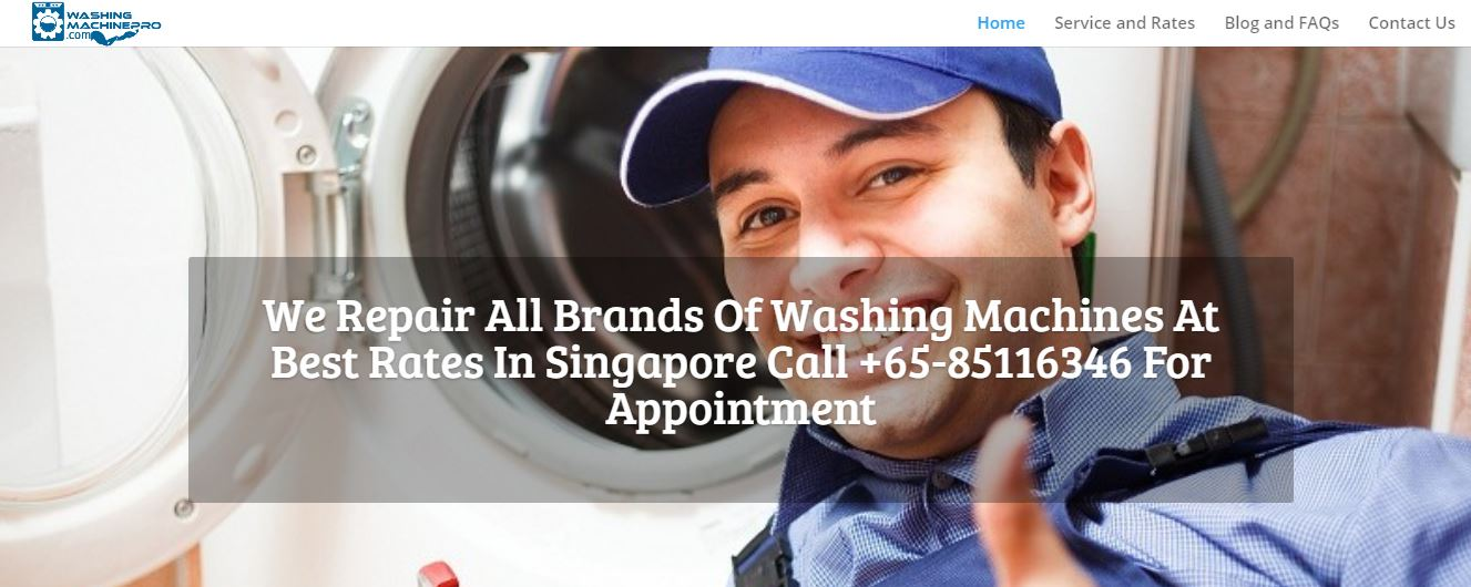 Washing Machine Pro's Homepage