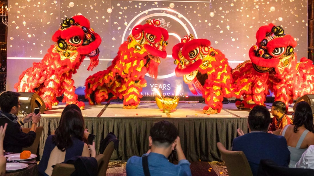 SG Hexin's Lion Dance