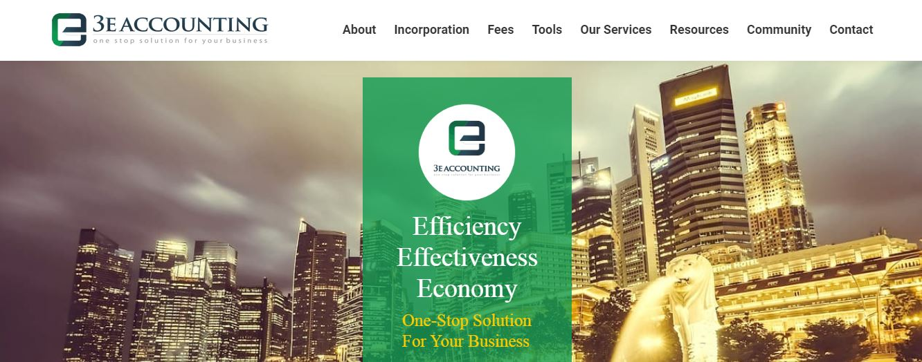 3E Accounting's Homepage
