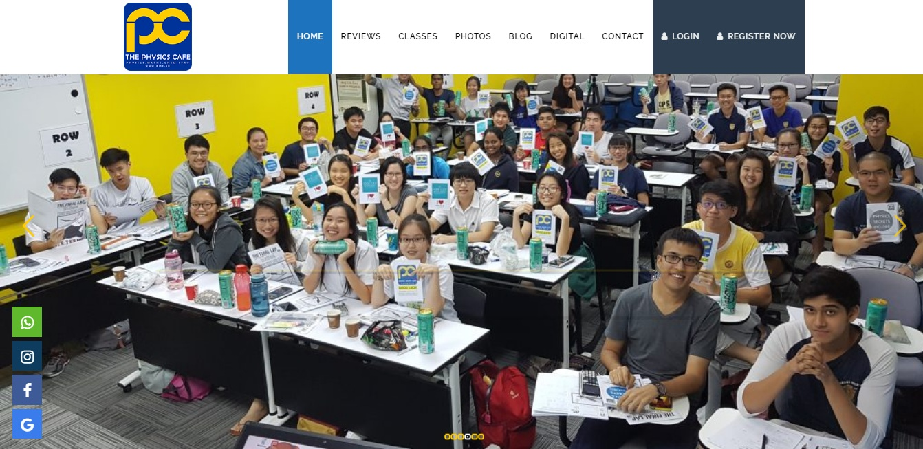 Physics Math Cafe's Homepage