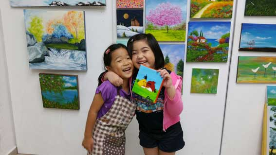Heart Room Gallery's Students
