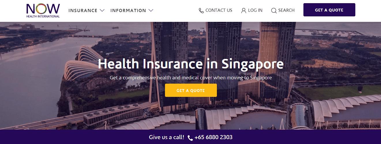 Now Health International's Homepage