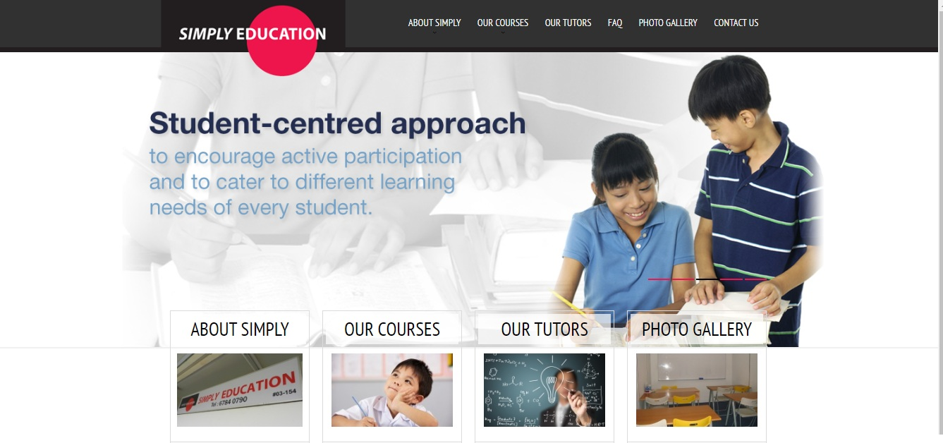 SIMPLY EDUCATION TUITION CENTER's Homepage