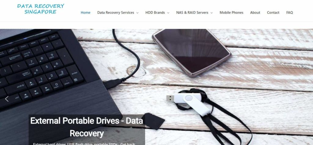 Data Recovery Singapore's Homepage