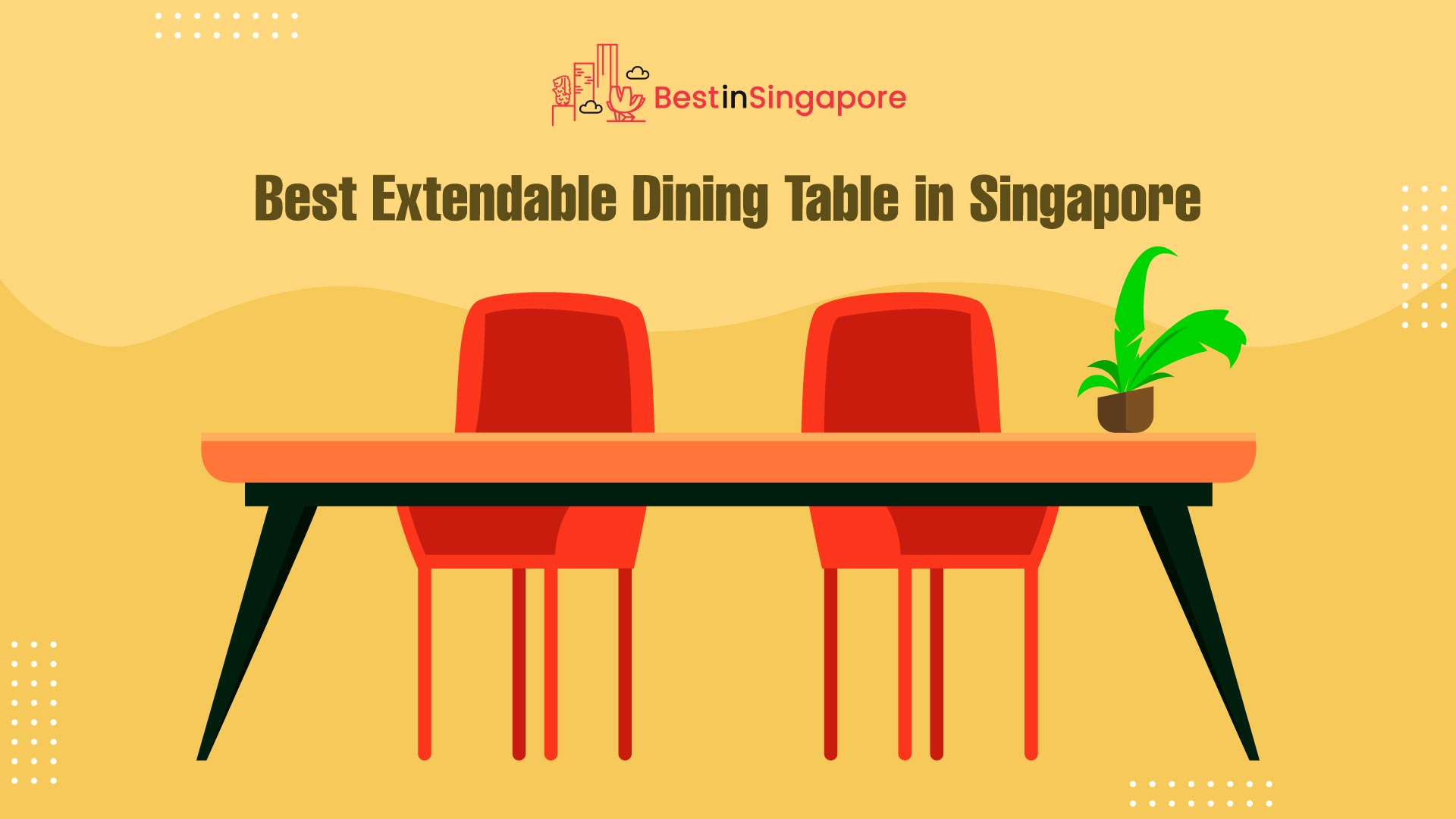 Best Extendable Dining Table in Singapore
