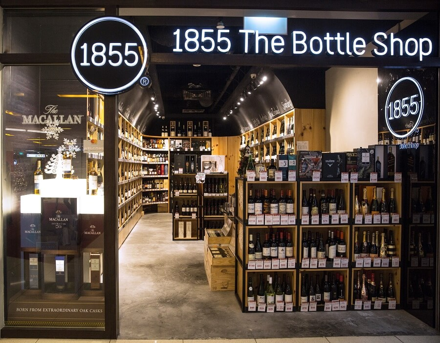 1855 The Bottle Shop's Storefront