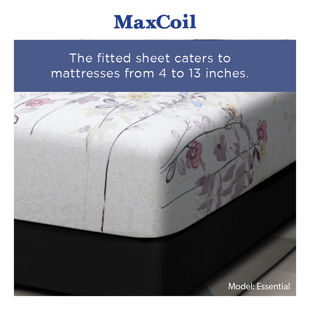 MaxCoil Essential Fitted Bedsheet Set