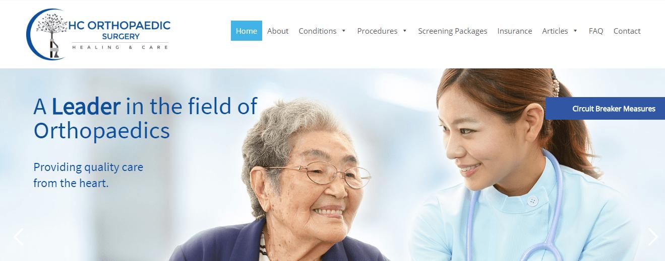 HC Orthopaedic Surgery's Homepage
