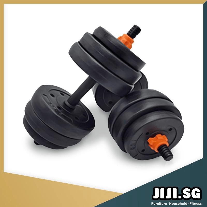 JIJI Black Versatile Dumbbell Set