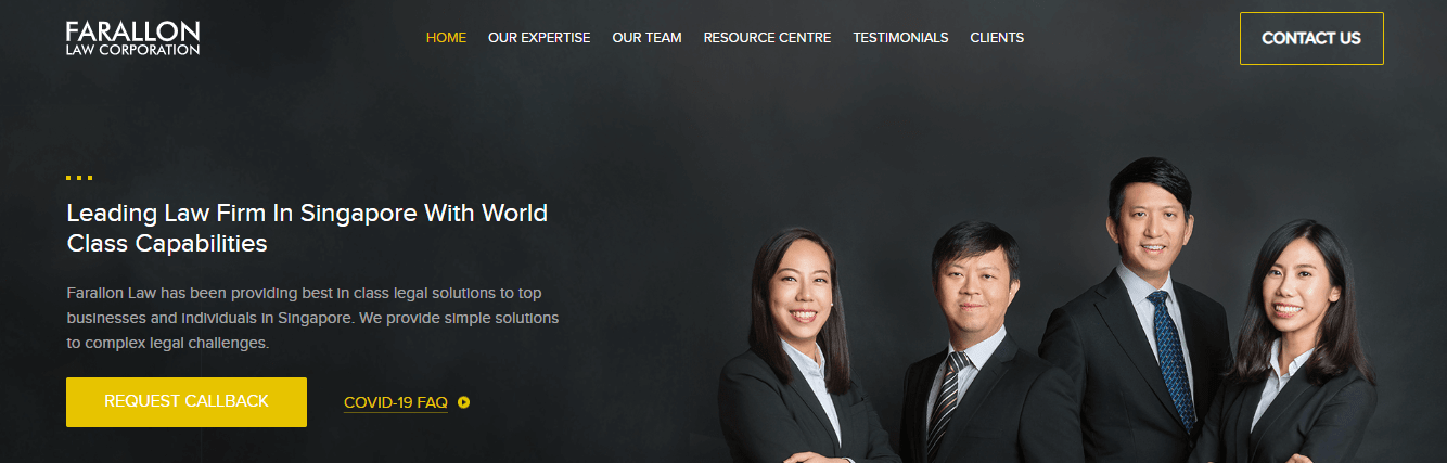 Farallon Law Corporation's Homepage