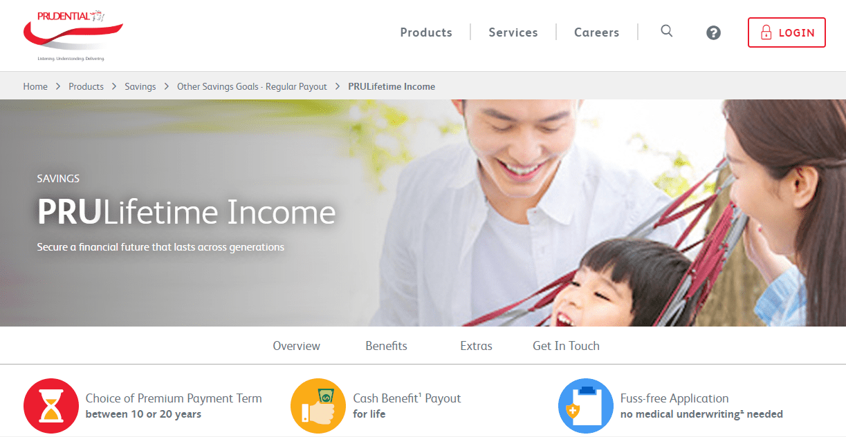 Prudential's Homepage