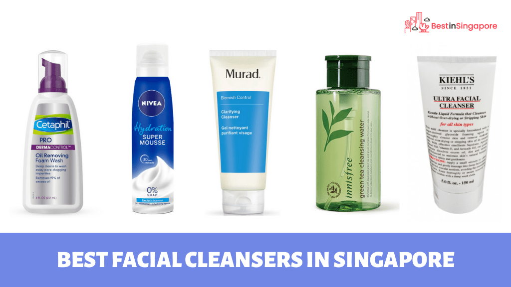 Best Facial Cleansers in Singapore