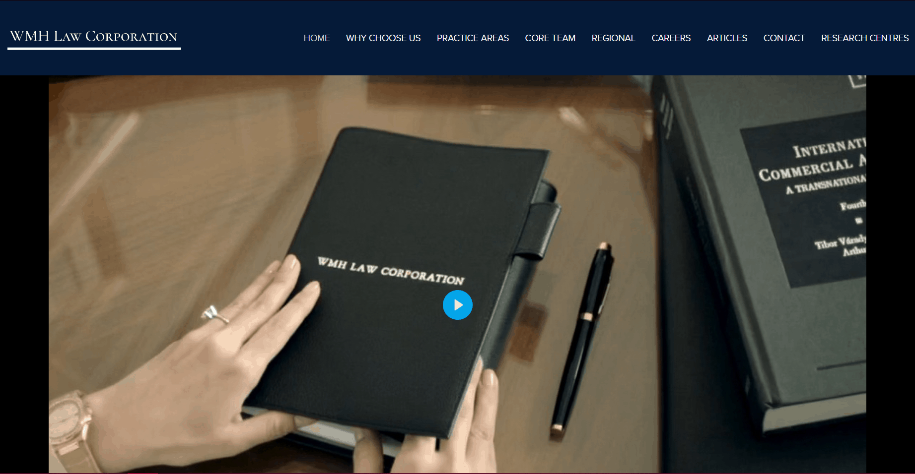WMH Law Homepage