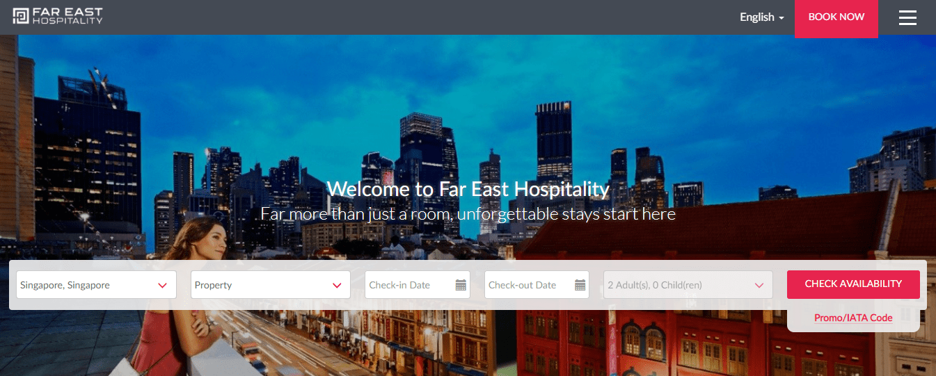 Far East Hospitality's Homepage