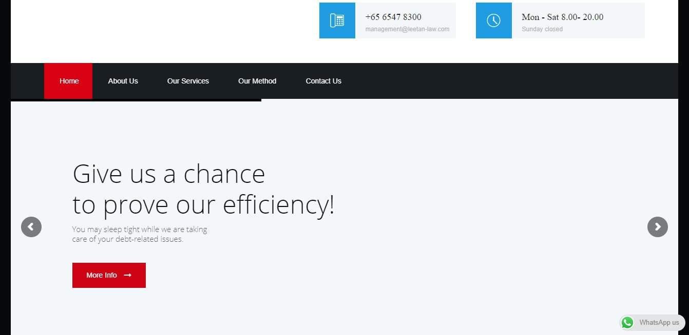 Lee Tan & Partners' Homepage