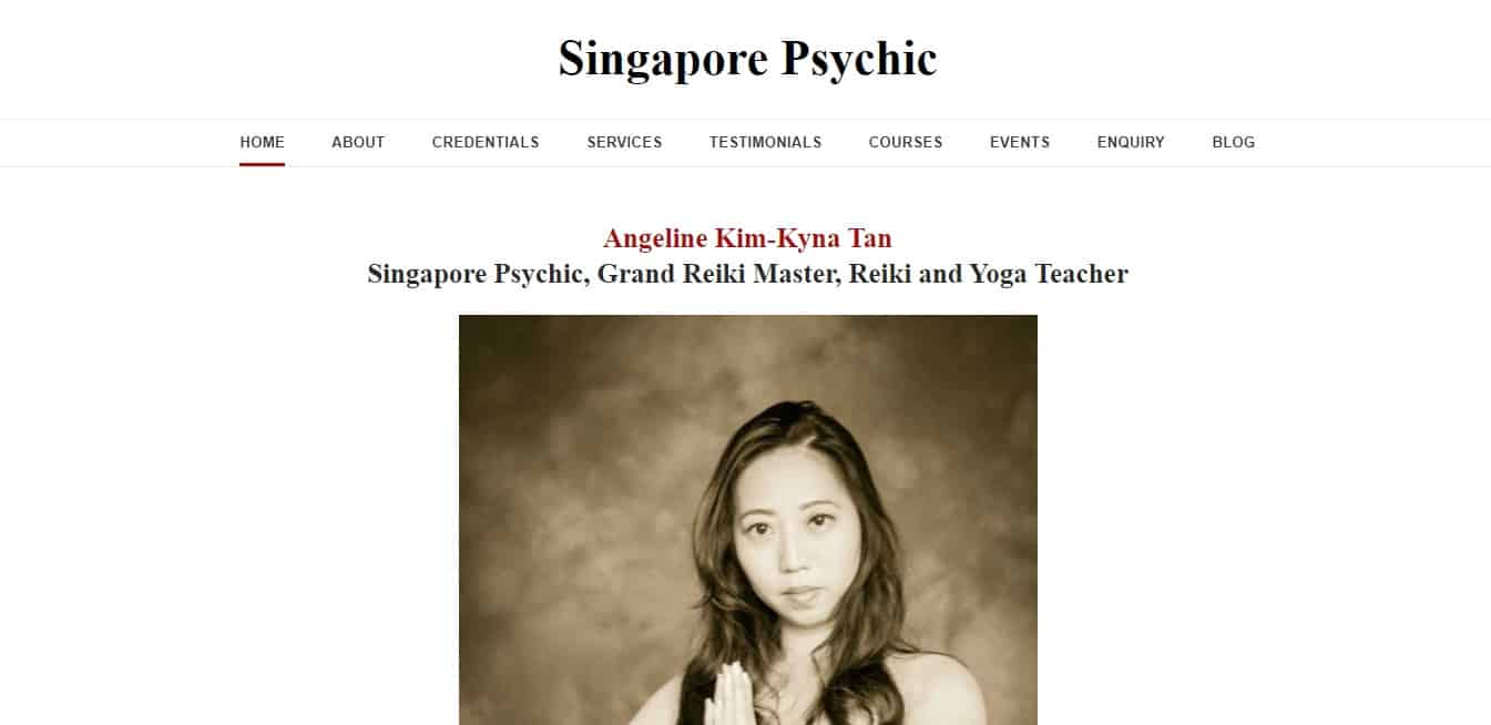 Singapore Psychic and The Metaphysics Alliance's Homepage
