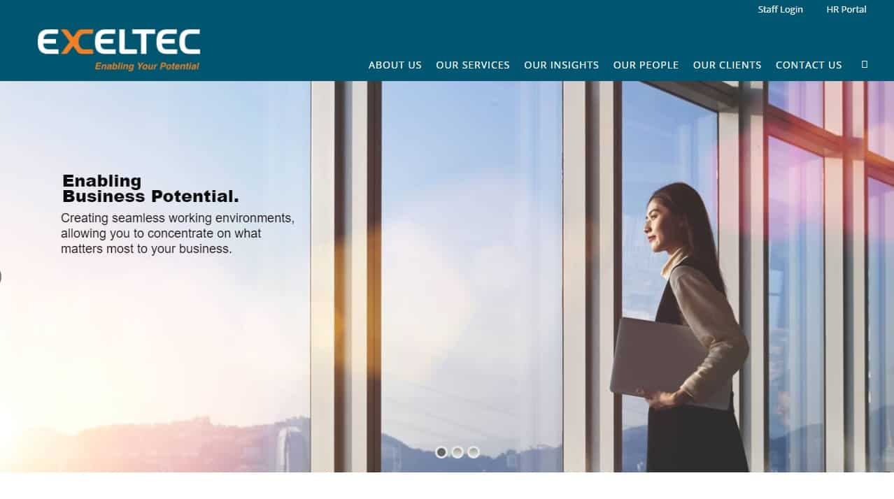 Exceltec Property Management's Homepage