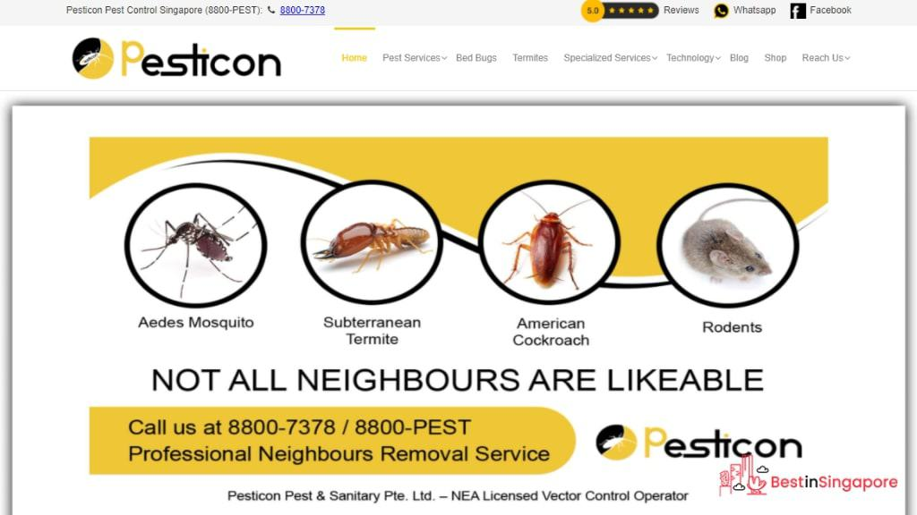 Pesticon's Homepage