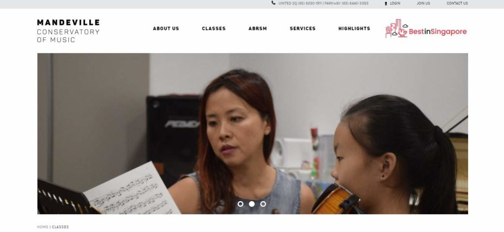 Mandeville Conservatory of Music's Homepage