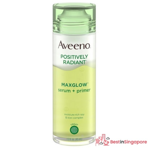 Aveeno Maxglow Serum and Primer