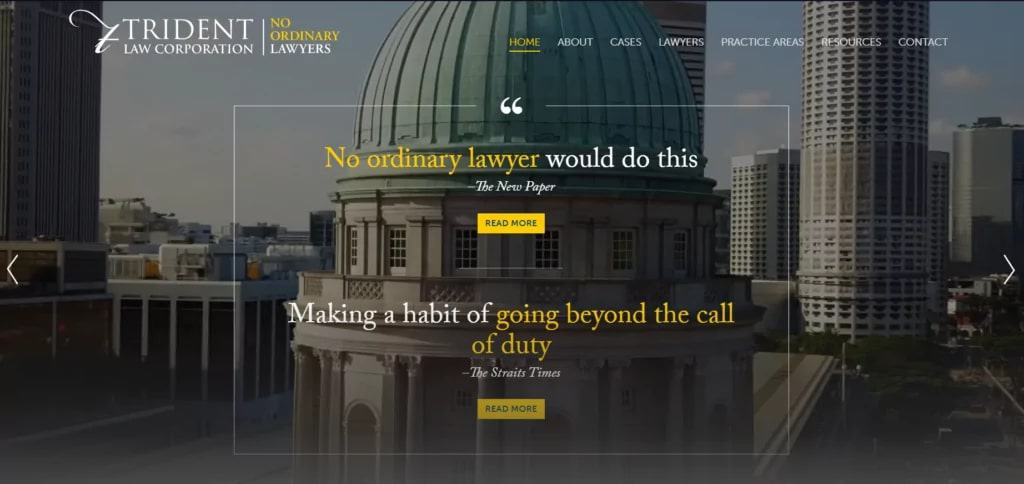 Trident Law Corporation's Homepage