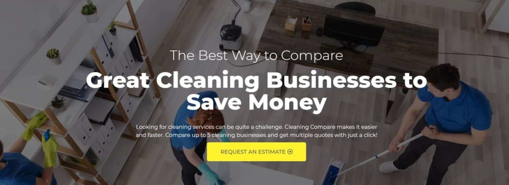 Cleaning Compare's Homepage