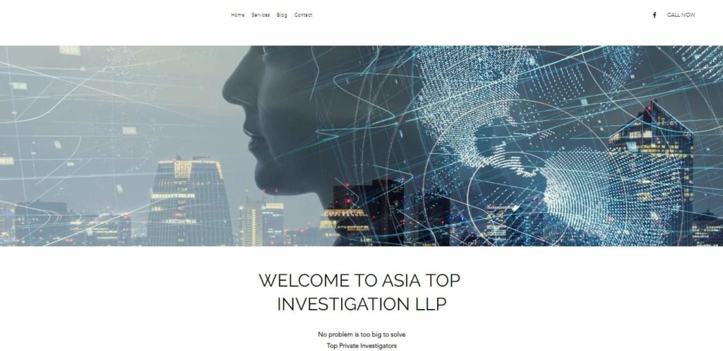 Asia Top Investigation LLP's Homepage