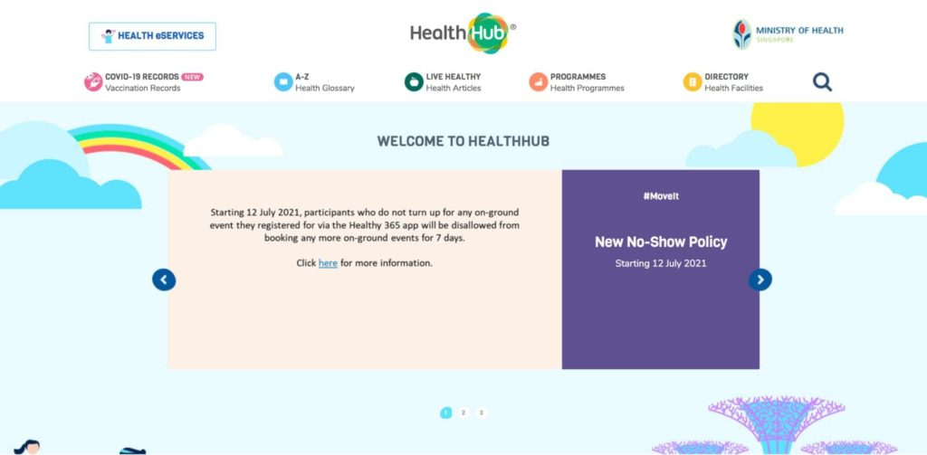 Screen for Life's Homepage