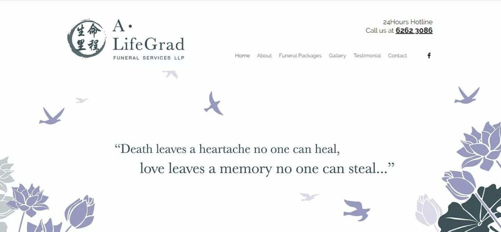 A.Lifegrad Funeral Service's Homepage