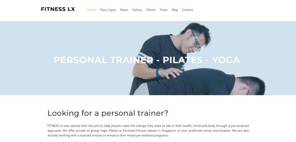 Fitness LX's Homepage